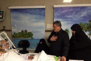 عیادت خانواده هاشمی رفسنجانی از استاد اخلاق
