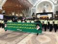 دانشجویان علوم انتظامی با آرمانهای امام راحل و آیت الله هاشمی تجدید میثاق کردند