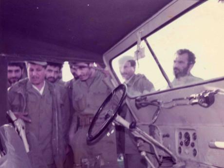 حضور ایت الله هاشمی در شرکت در جبهه