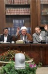 جلسه مجمع تشخیص مصلحت نظام به ریاست آیت الله هاشمی رفسنجانی