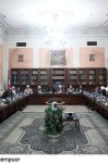 تشکیل جلسه مجمع تشخیص مصلحت نظام به ریاست آیت الله هاشمی رفسنجانی