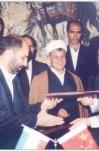 مصاحبه آیت الله هاشمی رفسنجانی درباره توان هستهای ایران