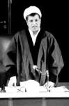 سخنرانی آیت الله هاشمی  رفسنجانی  برای تشریح برنامه های انقلاب