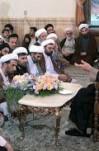 سخنرانی آیت الله هاشمی  رفسنجانی در جمع  طلاب حوزه علمیه قم