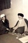 سفر آیت الله هاشمی رفسنجانی به عراق جهت ملاقات با امام خمینی  -  دوران مبارزه