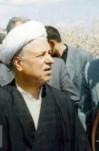 مصاحبه آیت الله  هاشمی رفسنجانی با خبرنگاران رسانههای مختلف