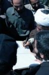 مصاحبه آیت الله هاشمی رفسنجانی با خبرنگار واحد مرکزی خبر صداوسیمای جمهوری اسلامی ایران