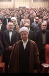 سخنرانی آیت الله هاشمی در دیدار جمعی از دانشجویان دانشکده اقتصاد دانشگاه علامه طباطبایی