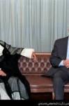 مصاحبه آیت الله هاشمی رفسنجانی و حافظ اسد با خبرنگاران رسانههای ایران و سوریه