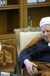 مصاحبه آیت الله هاشمی رفسنجانی  با خبرنگار صداوسیمای جمهوری اسلامی ایران