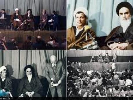 قرائت حکم مهندس بازرگان برای تشکیل دولت موقت توسط آیت الله هاشمی رفسنجانی