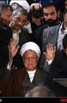 مصاحبه آیت الله هاشمی رفسنجانی با با خبرنگاران صداوسیما در زمان ثبت نام انتخابات ریاست جمهوری