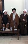 دیدار جمعی از نمایندگان مجلس خبرگان رهبری با آیت الله هاشمی رفسنجانی