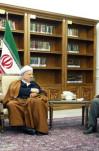 دیدار جمعی از اعضای هیأت مؤسس حزب مجمع ایثارگران با آیت الله هاشمی رفسنجانی