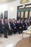 دیدار  جمعی از تولیدکنندگان، صنعتگران و بازرگانان جوان با آیتالله هاشمی رفسنجانی