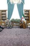 دیدار  جمعی از سرداران بازنشسته سپاه پاسداران با آیتالله هاشمی رفسنجانی