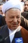 مصاحبه آیت الله  هاشمی رفسنجانی آغاز سفر به استان خوزستان