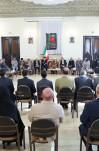 دیدار  آیت الله هاشمی رفسنجانی با اعضای شورای مرکزی خانه احزاب ایران