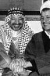 پیام آیت الله هاشمی رفسنجانی  به رئیس حکومت خودگردان فلسطین