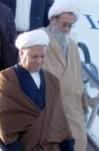 مصاحبه آیت الله  هاشمی رفسنجانی در آغاز سفر به استان مازندران