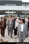 بازدید آیت الله هاشمی رفسنجانی از دانشگاه آزاد اسلامی گلبهار
