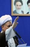 نماز جمعه تهران به امامت آیت الله هاشمی رفسنجانی