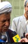 مصاحبه آیت الله هاشمی رفسنجانی با آقای جلال رفیع