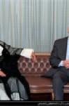 مصاحبه آیت الله  هاشمی رفسنجانی در بدو ورود حافظ اسد، رئیس جمهور سوریه به ایران