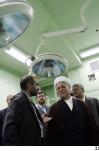 بازدید هاشمی رفسنجانی از مرکز نجوم آستان مقدس حضرت عبدالعظیم حسنی
