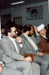 مصاحبه آیت الله  هاشمی رفسنجانی با خبرنگاران داخلی
